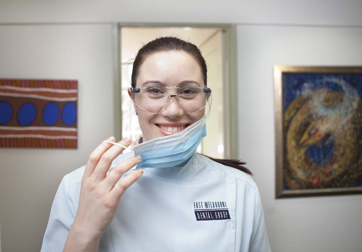 Dentist at our East Melbourne dental clinic